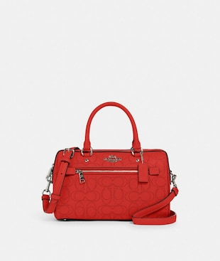 ROWAN SATCHEL IN SIGNATURE LEATHER