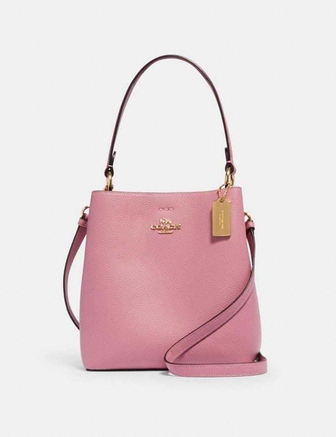 Coach Small Town Bucket Bag Im/Rose/Midnight Deals Just Reduced