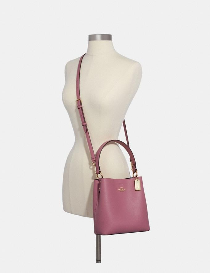 Coach Small Town Bucket Bag Im/Rose/Midnight Deals Just Reduced Alternate View 2