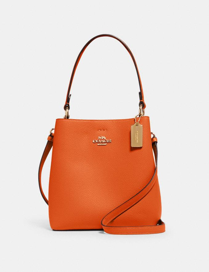 Coach Small Town Bucket Bag Im/Sedona Redwood What's New