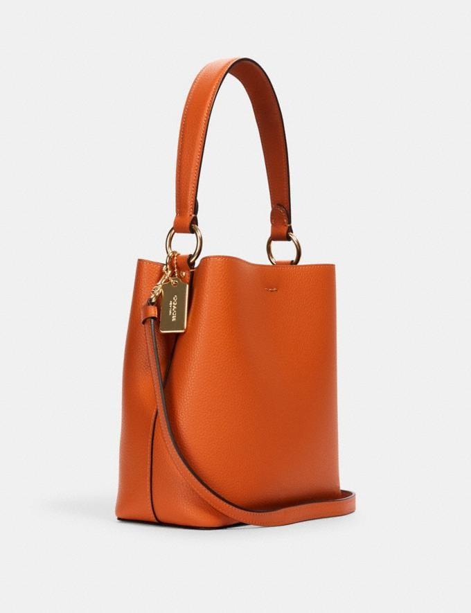 Coach Small Town Bucket Bag Im/Sedona Redwood What's New Alternate View 1