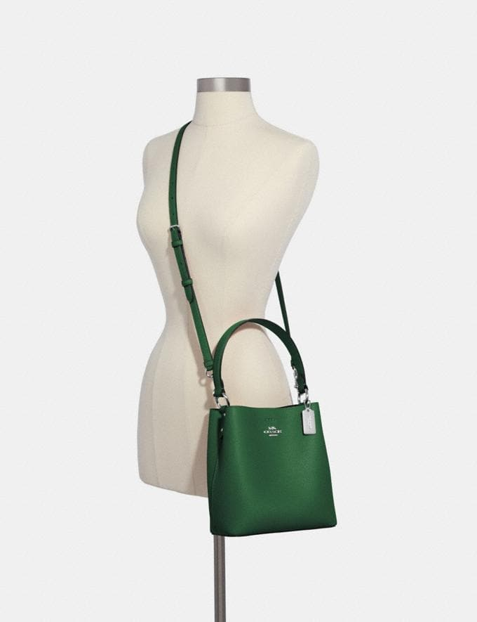 Coach Small Town Bucket Bag Sv/Shamrock Midnight What's New Alternate View 3