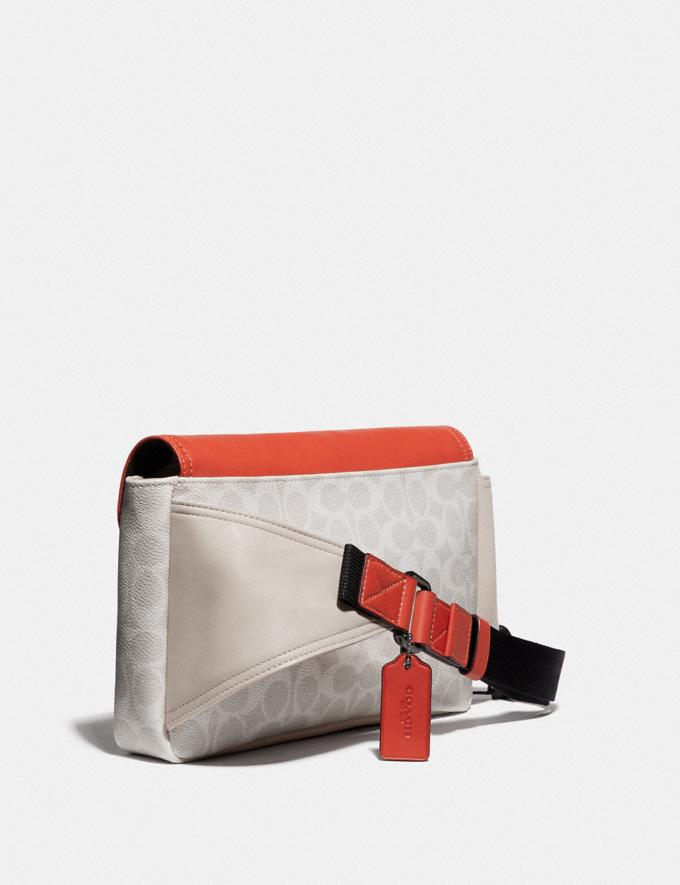 Coach Pacer Belt Bag in Signature Canvas With Coach Patch Ji/Chalk/Mango SALE null null Limited-Time Deals Alternate View 1