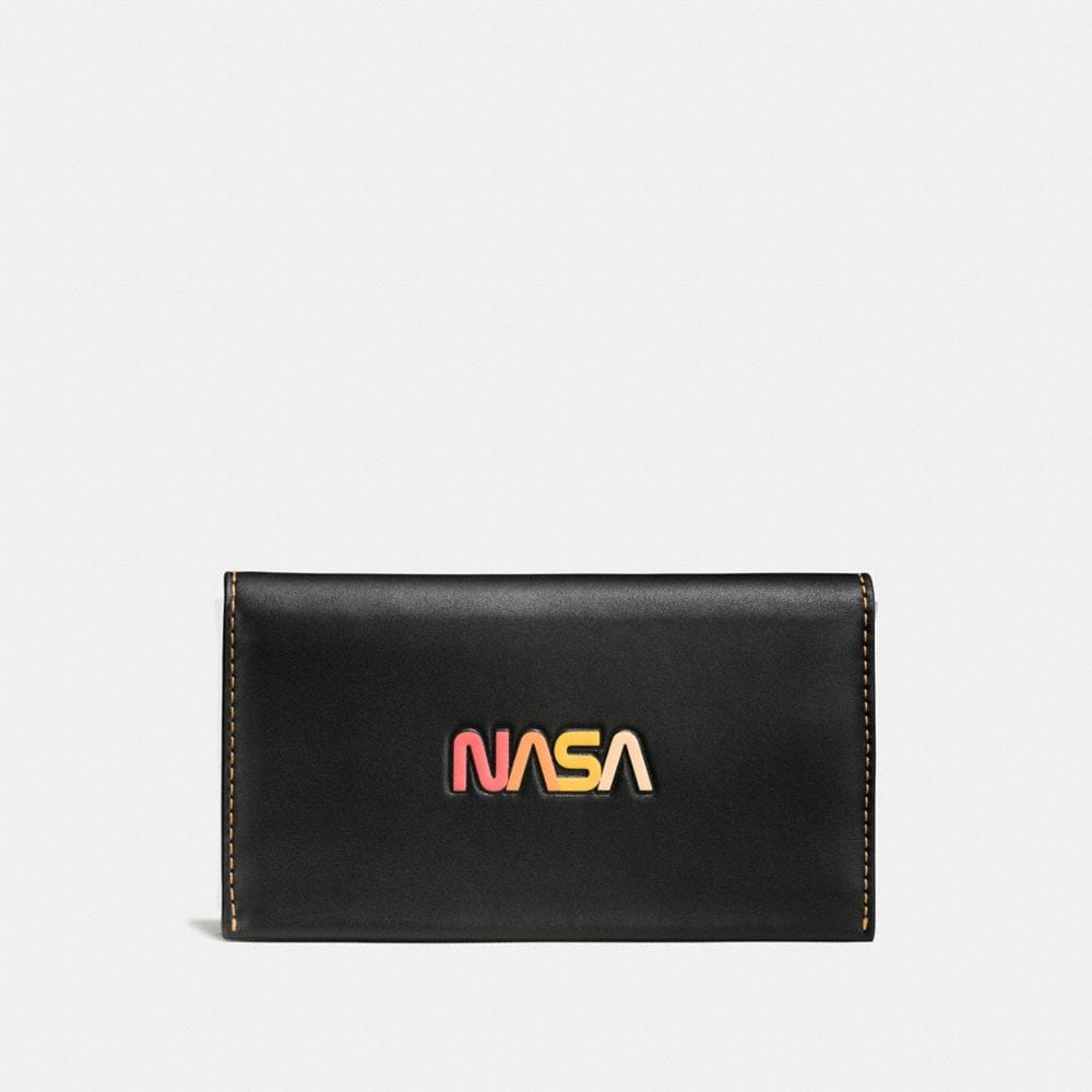 Coach Phone Wallet With Embossed Space