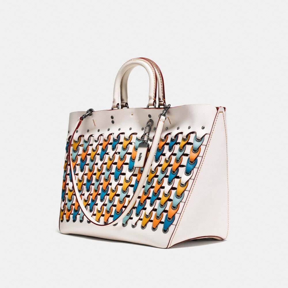 Coach Rogue Tote With Colorblock Coach Link Alternate View 2