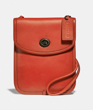 TURNLOCK FLAT CROSSBODY