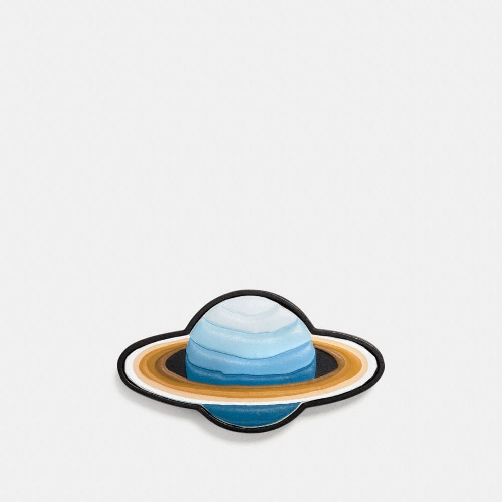 SATURN LEATHER PIN