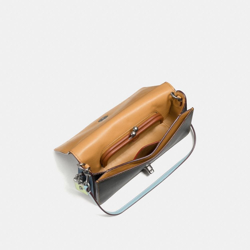 DINKY IN GLOVETANNED LEATHER WITH SPACE EMBELLISHMENT - Visualizzazione alternativa