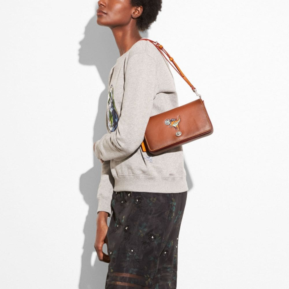 Dinky in Glovetanned Leather With Space Rexy - Visualizzazione alternativa A4