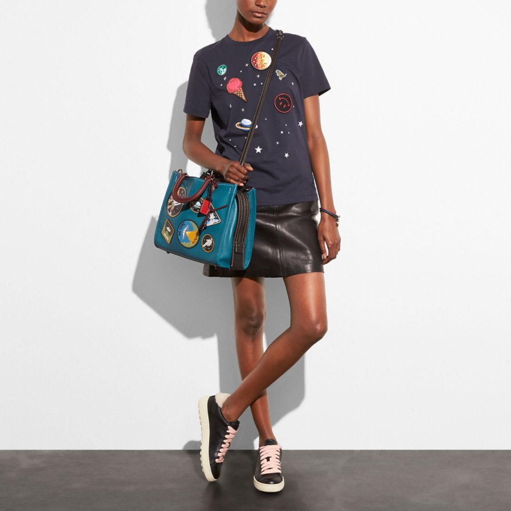 Coach Rogue With Space Patches Alternate View 4