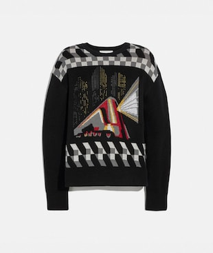 NYC JACQUARD SWEATER