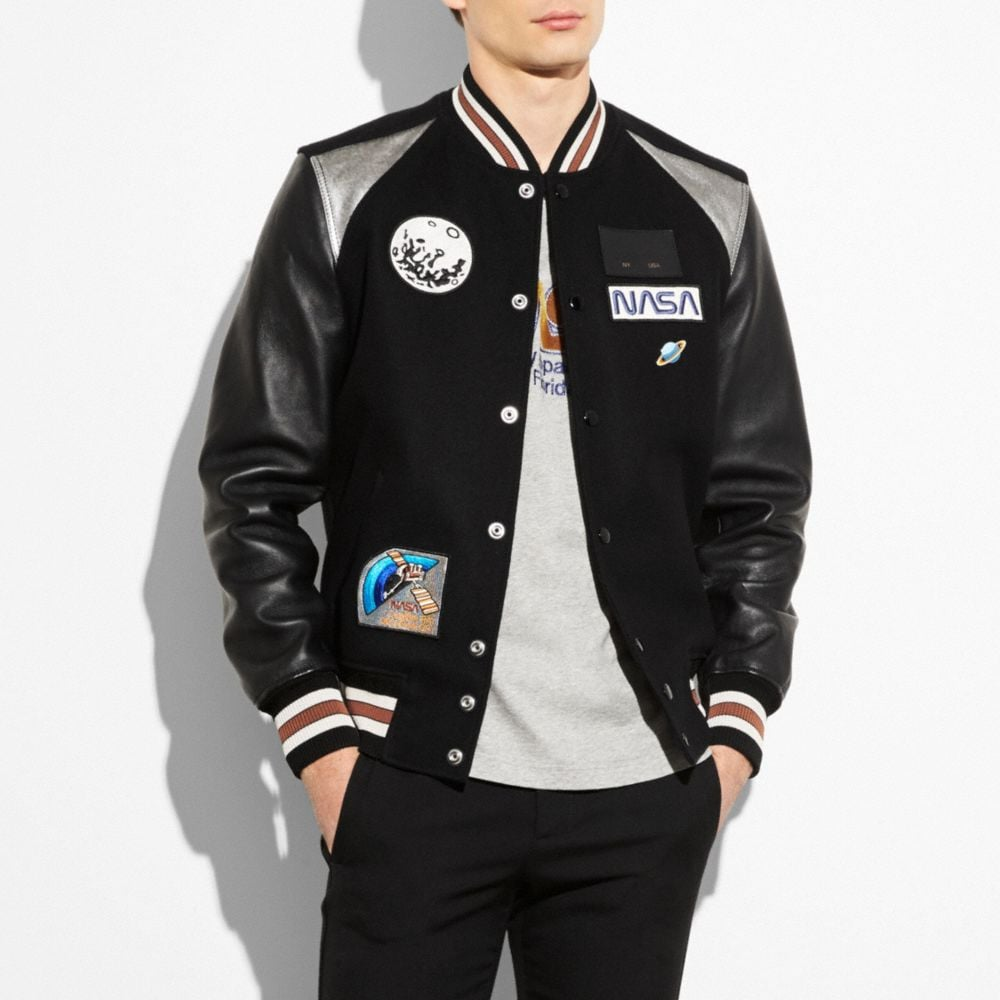 ANIMATED VARSITY JACKET