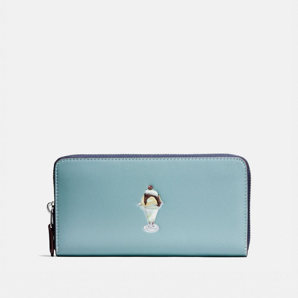 Coach Accordion Wallet With Sundae