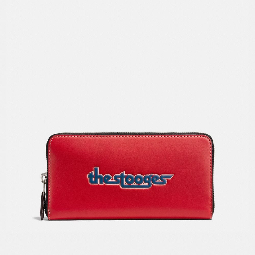 Coach Accordion Wallet With the Stooges