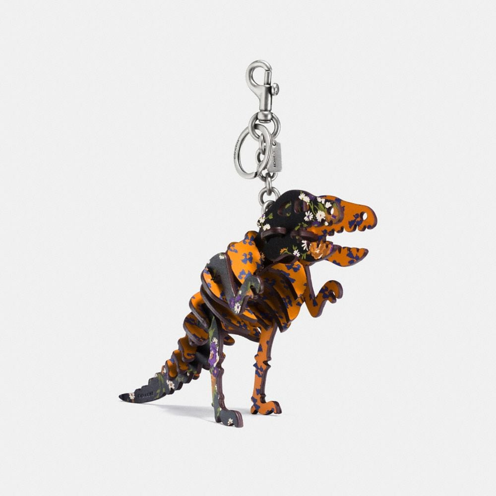 MEDIUM PRINTED REXY BAG CHARM