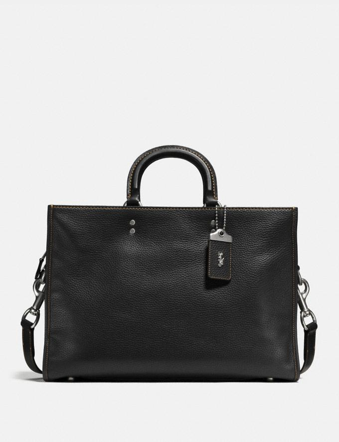 Coach Rogue Brief Black/Light Antique Nickel Customization For Her The Monogram Shop