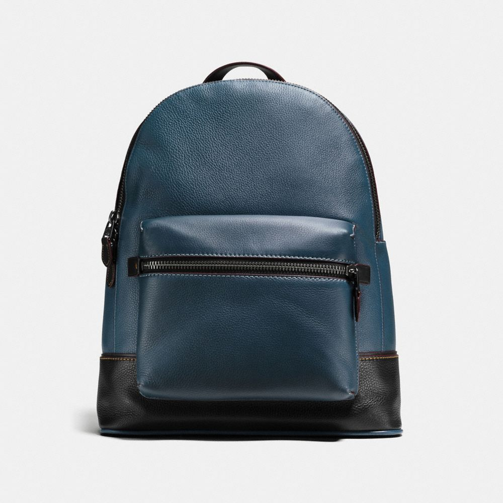 LEAGUE BACKPACK IN GLOVETANNED PEBBLE LEATHER