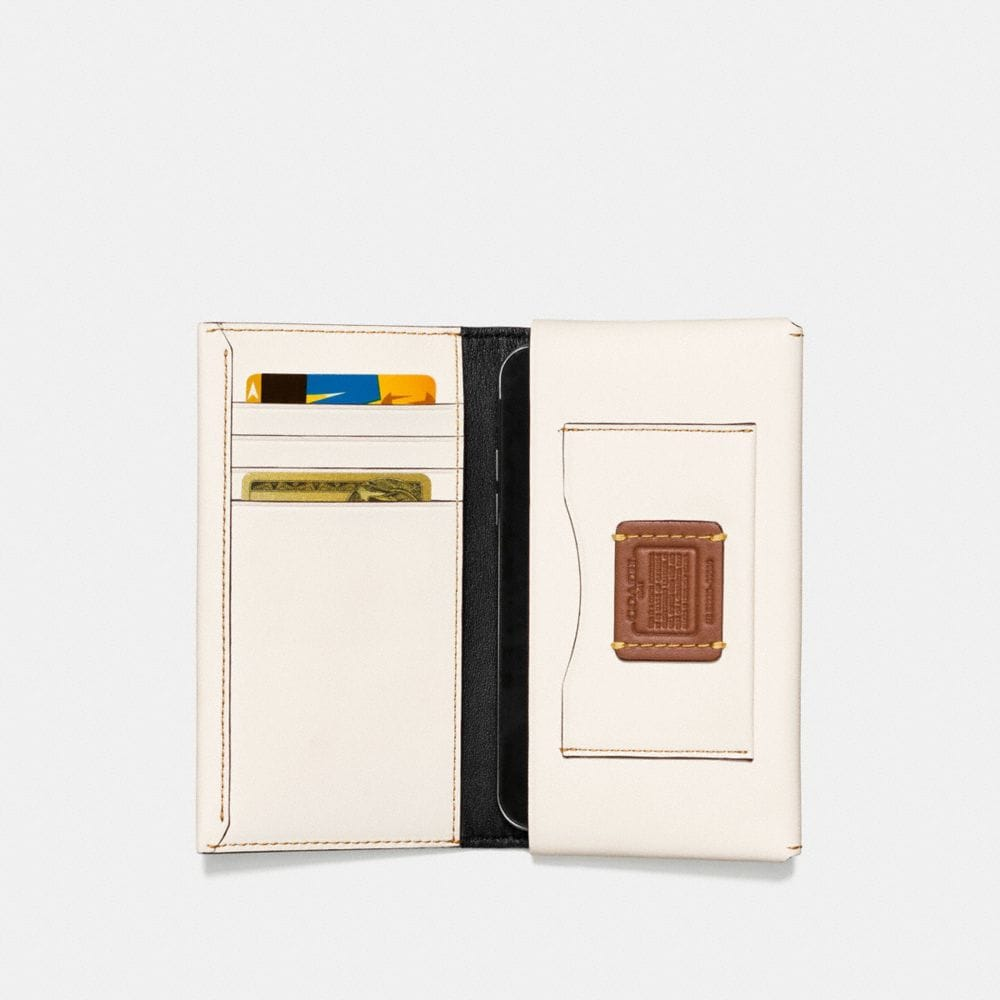 Coach Phone Wallet With Rocket Alternate View 1