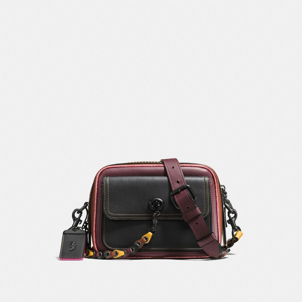 TURNLOCK DYLAN IN COACH LINK GLOVETANNED LEATHER
