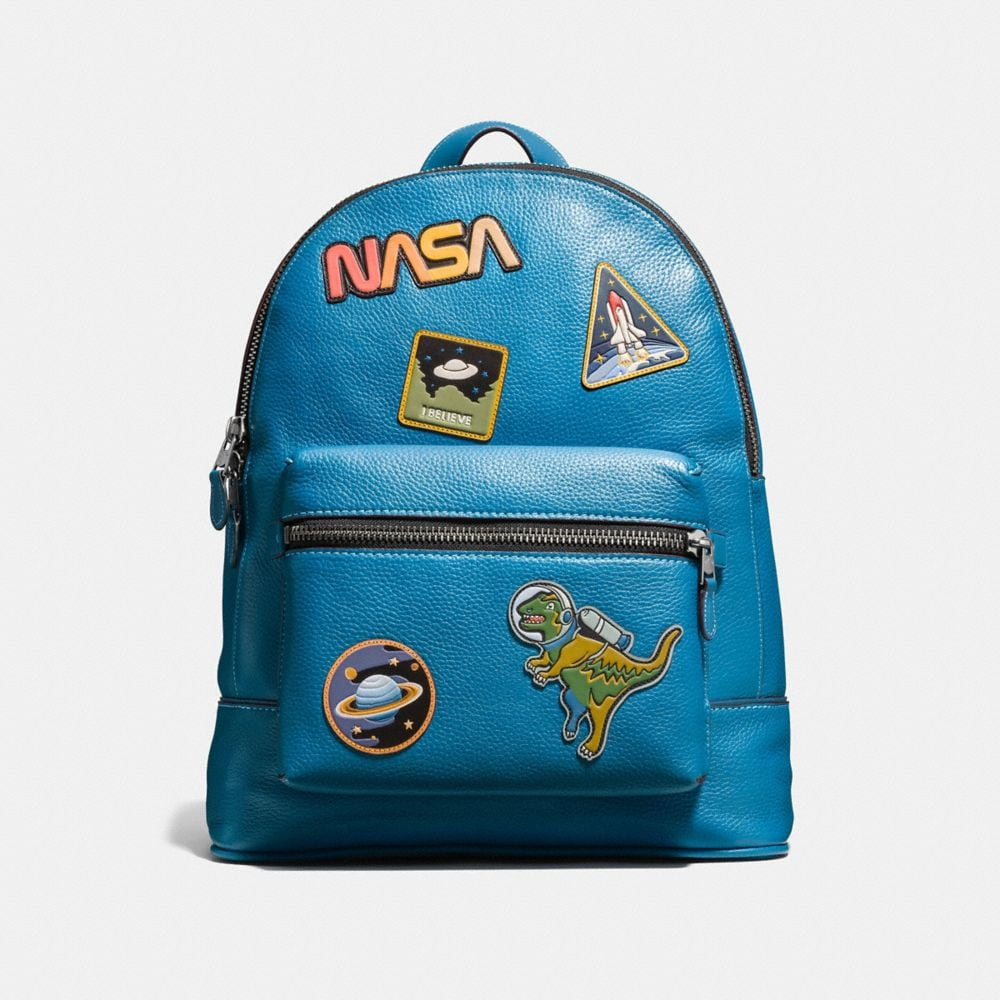 Coach League Backpack With Space Patches