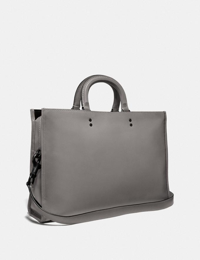 Coach Rogue Brief Heather Grey/Black Copper Finish Men Bags Briefcases Alternate View 1