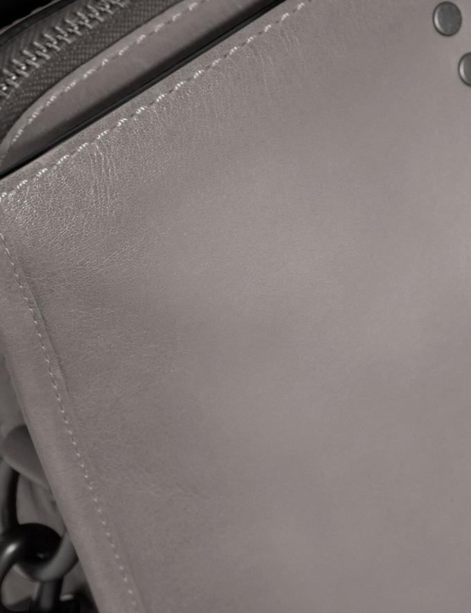 Coach Rogue Brief Heather Grey/Black Copper Finish Men Bags Briefcases Alternate View 4
