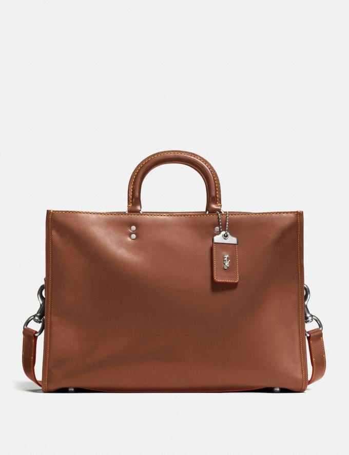 Coach Rogue Brief Dark Sienna/Light Antique Nickel