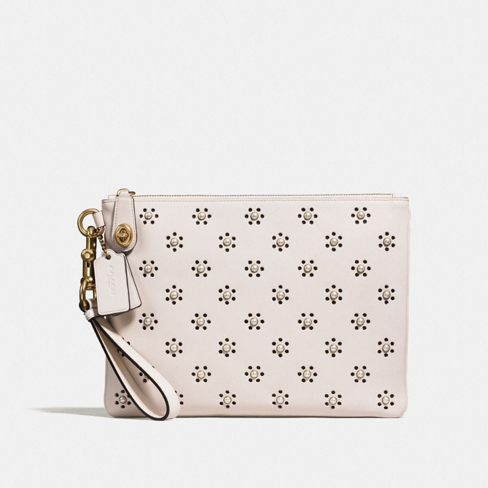 TURNLOCK WRISTLET 30 IN GLOVETANNED LEATHER WITH WHIPSTITCH EYELET AND SNAKE DETAIL