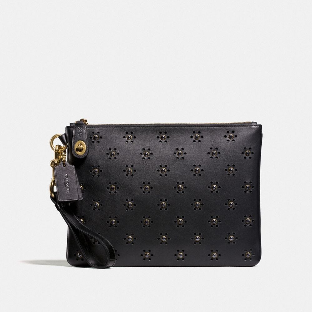 TURNLOCK WRISTLET 30 IN GLOVETANNED LEATHER WITH WHIPSTITCH EYELET