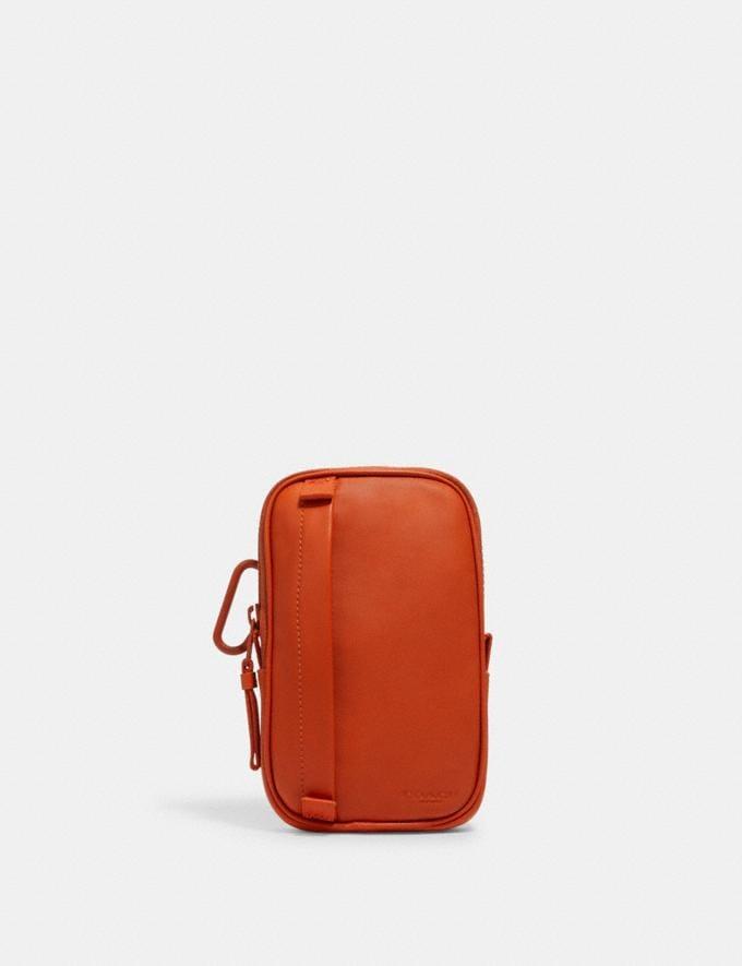Coach North/South Hybrid Pouch Qb/Spice Orange