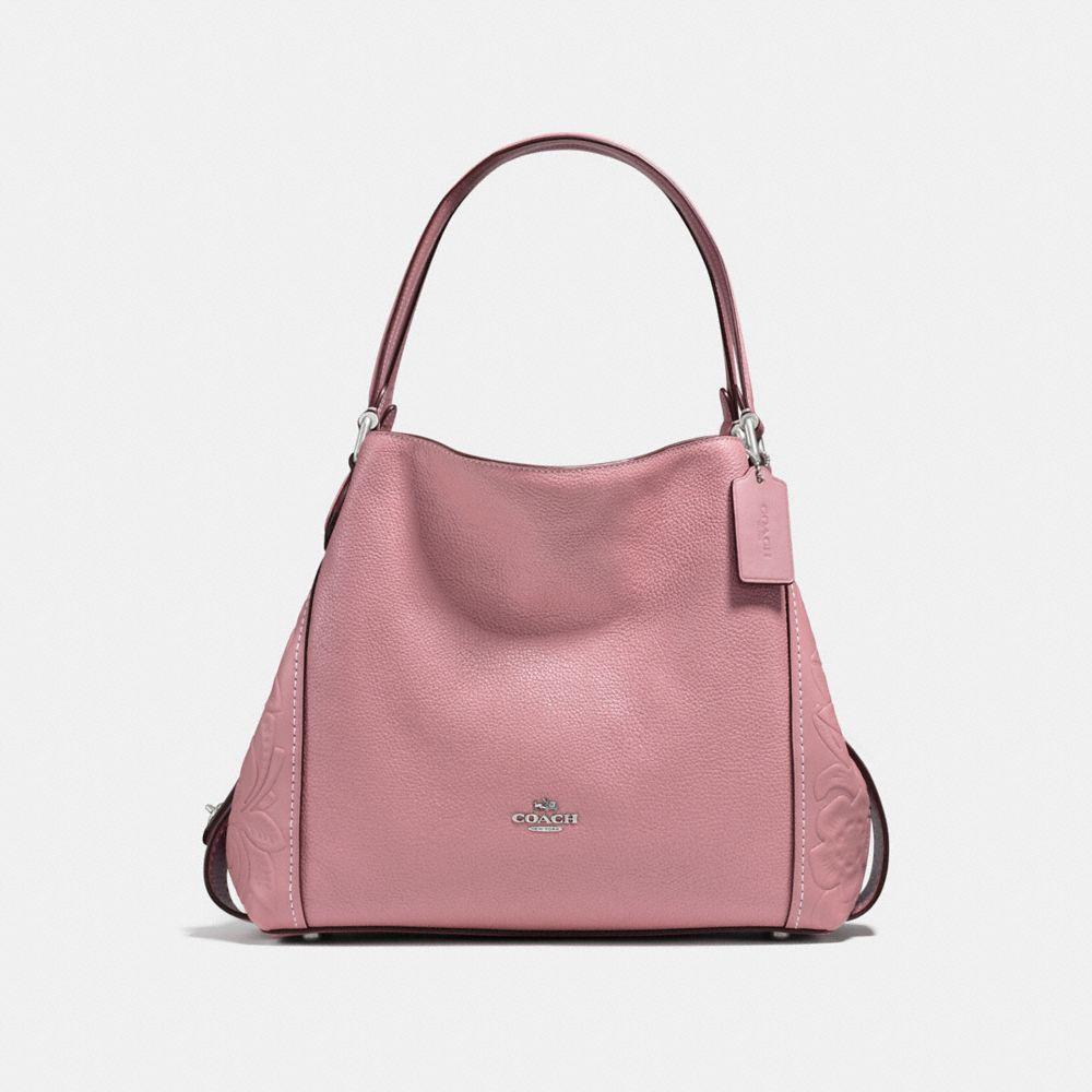 Coach Edie Shoulder Bag 31 With Tea Rose Tooling
