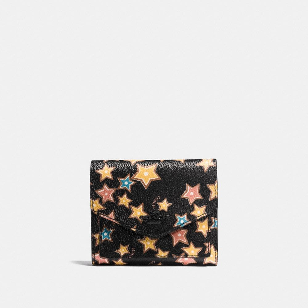 SMALL WALLET WITH STARLIGHT PRINT