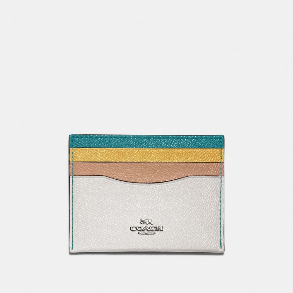 CARD CASE IN COLORBLOCK