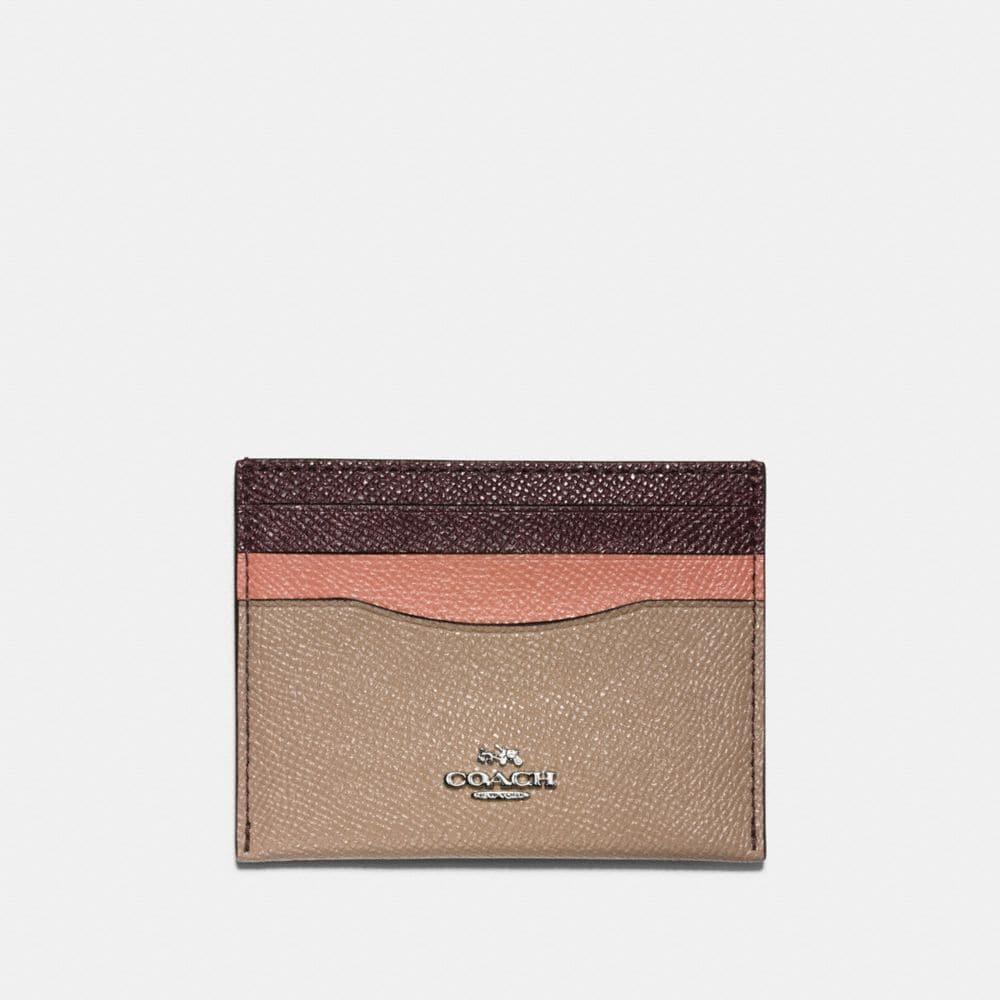 coach women s card cases