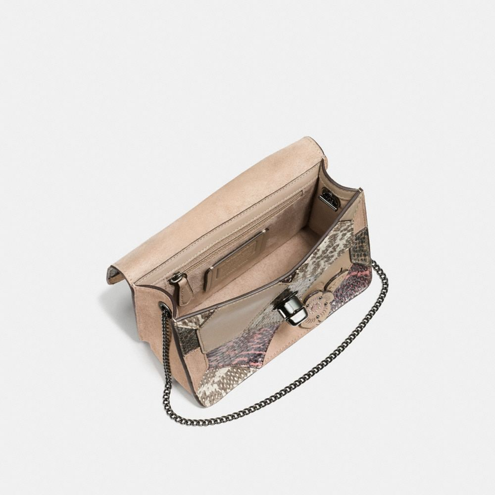 Coach Bowery Crossbody With Patchwork Snakeskin Alternate View 2
