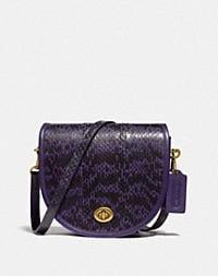 brass/royal purple