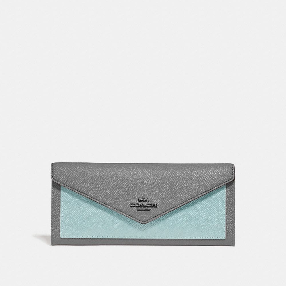 Coach Soft Wallet in Colorblock