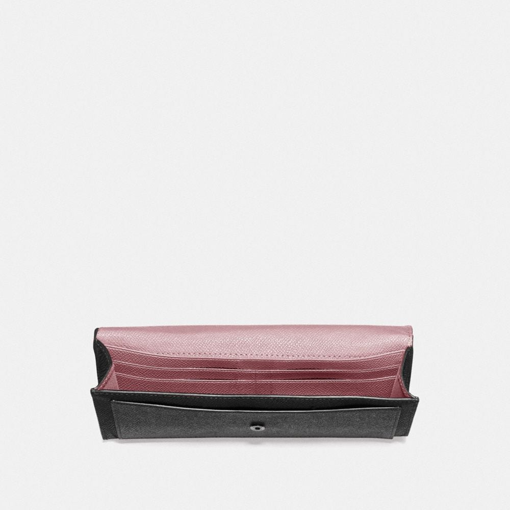Coach Soft Wallet in Colorblock Alternate View 1
