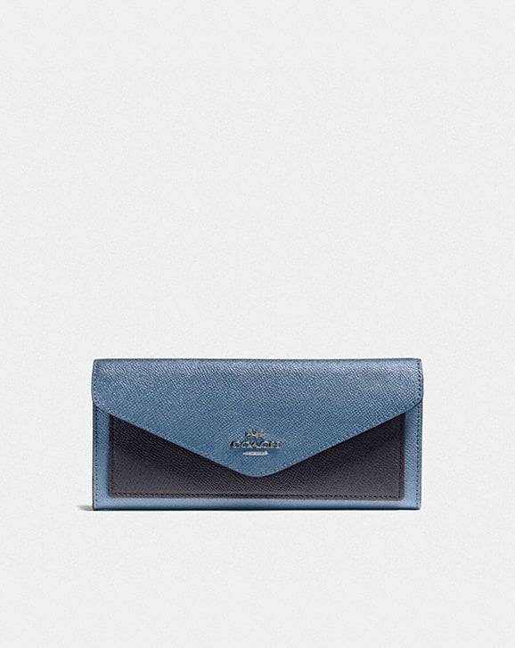 Coach PORTEFEUILLE SOUPLE EN COLOR BLOCK