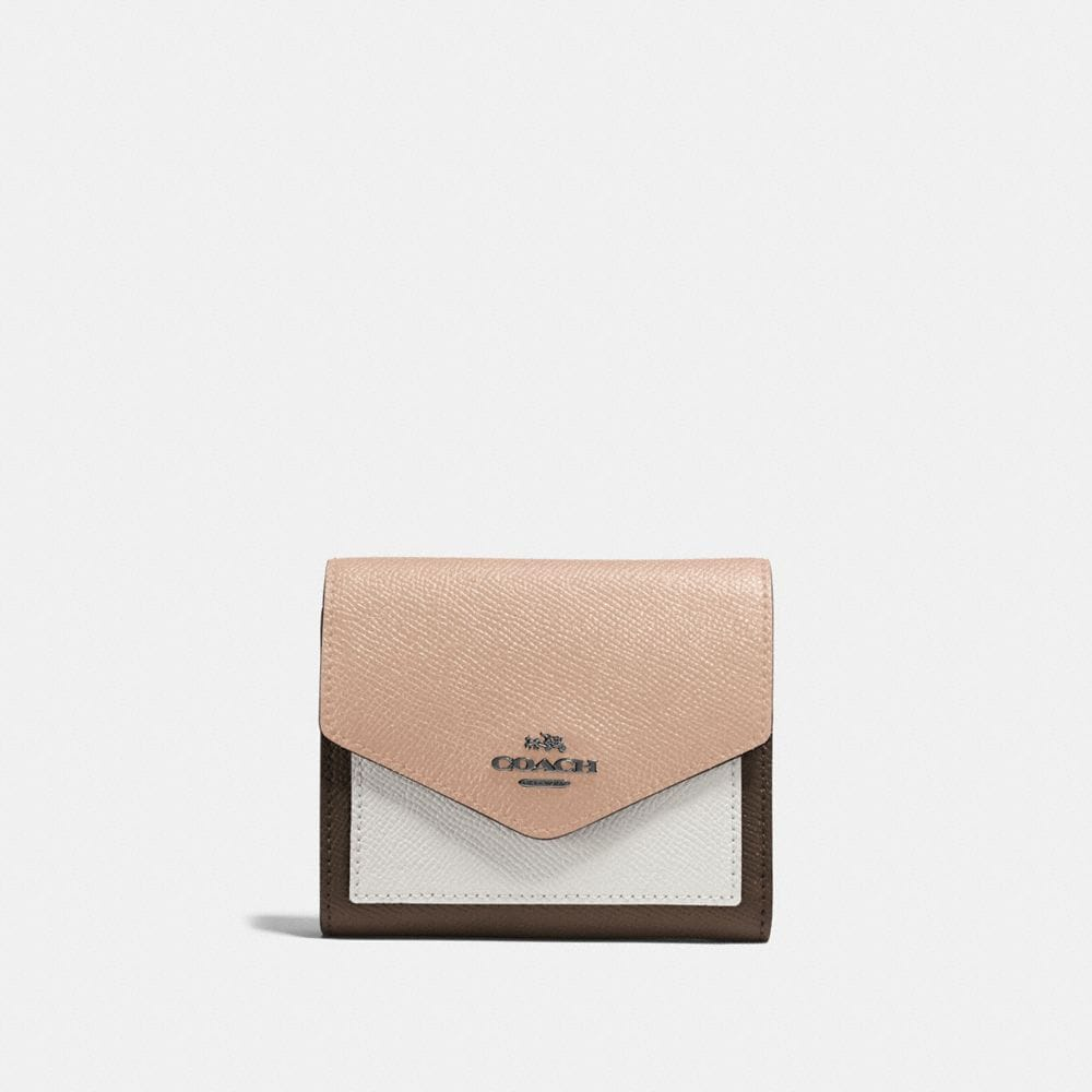 Coach Small Wallet in Colorblock