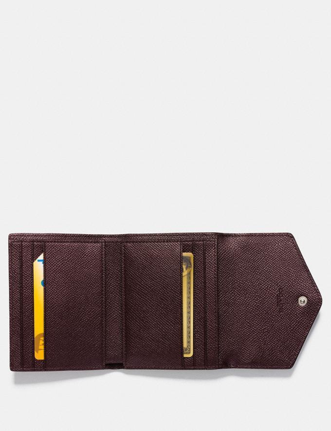 Coach Small Wallet in Colorblock Light Peach Multi/Gold CYBER MONDAY SALE Women's Sale Wallets & Wristlets Alternate View 1