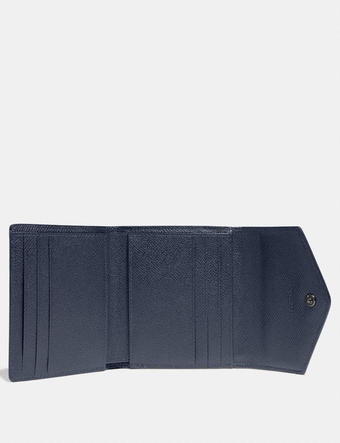 Coach Small Wallet in Colorblock Slate Multi/Gunmetal Women Wallets & Wristlets Small Wallets Alternate View 1