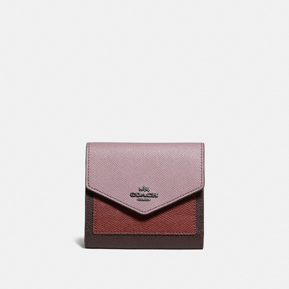 SMALL WALLET IN COLORBLOCK