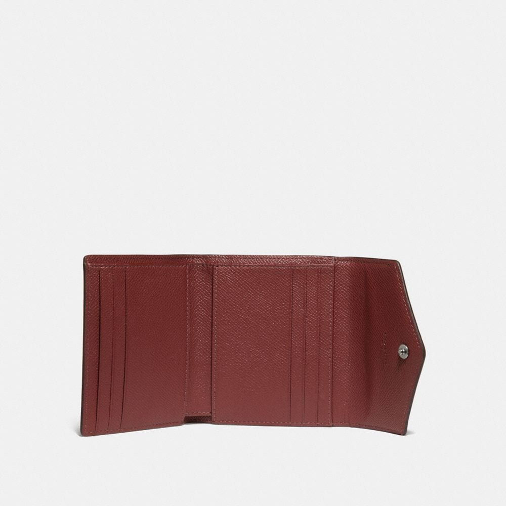 Coach Small Wallet in Colorblock Alternate View 1
