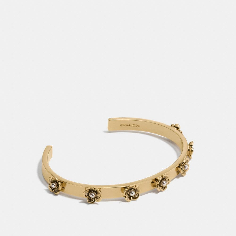 Coach Ditsy Willow Floral Open Cuff