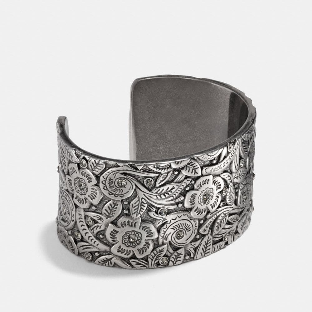Coach Tooled Open Cuff