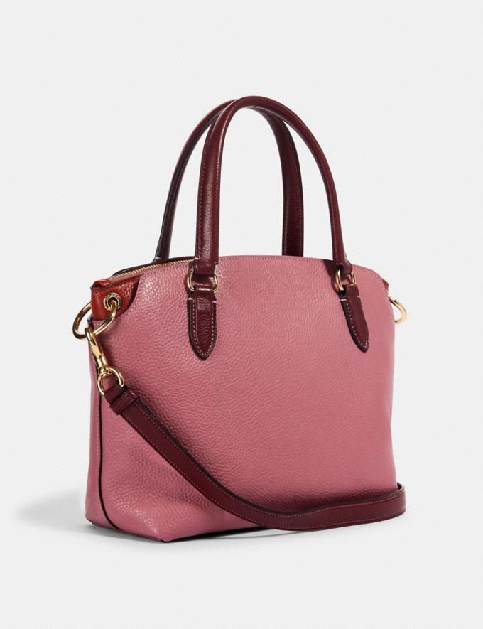 Coach Remi Satchel Im/Rose/Wine Women Bags Alternate View 1