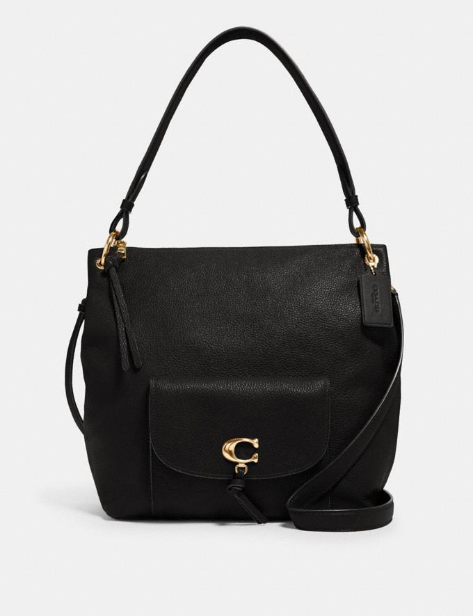 Coach Remi Hobo Im/Black What's New Remi Collection