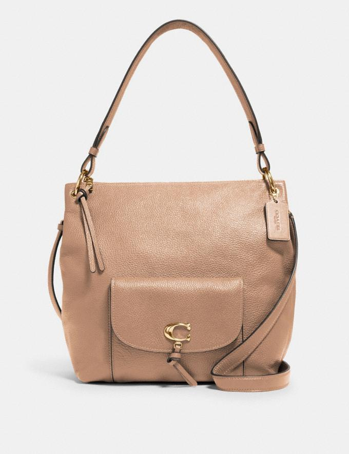 Coach Remi Hobo Im/Taupe What's New Remi Collection