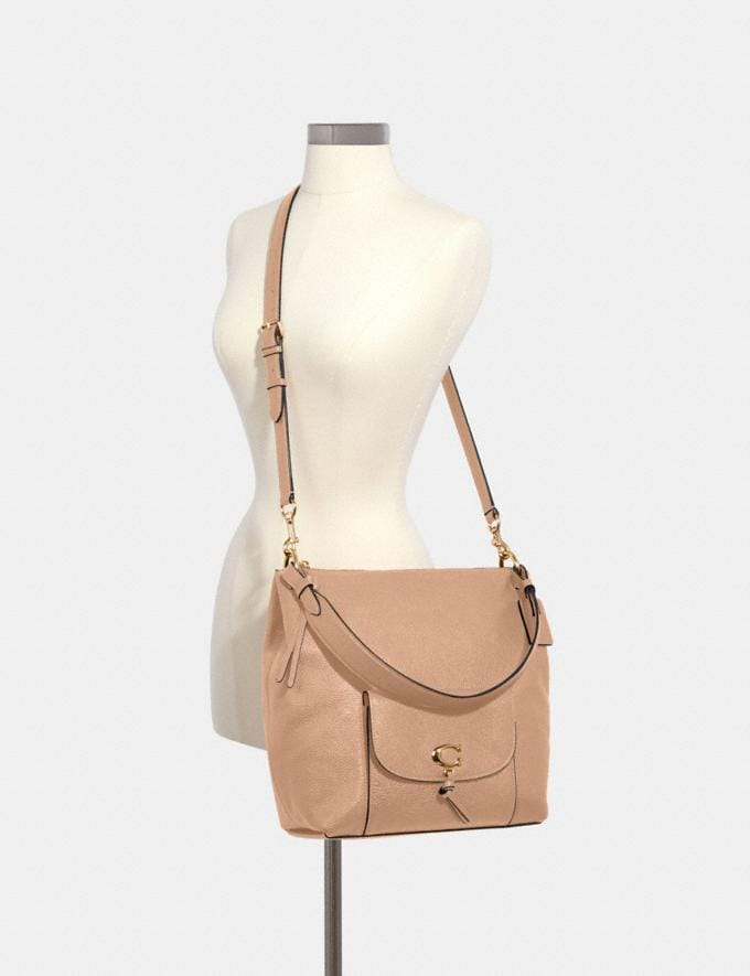 Coach Remi Hobo Im/Taupe What's New Remi Collection Alternate View 2